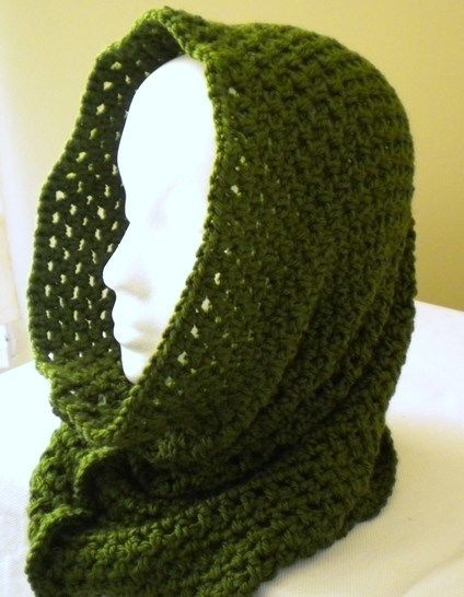 Fast & Easy Cowl-Hood- Crochet Pattern at Makerist - Image 1