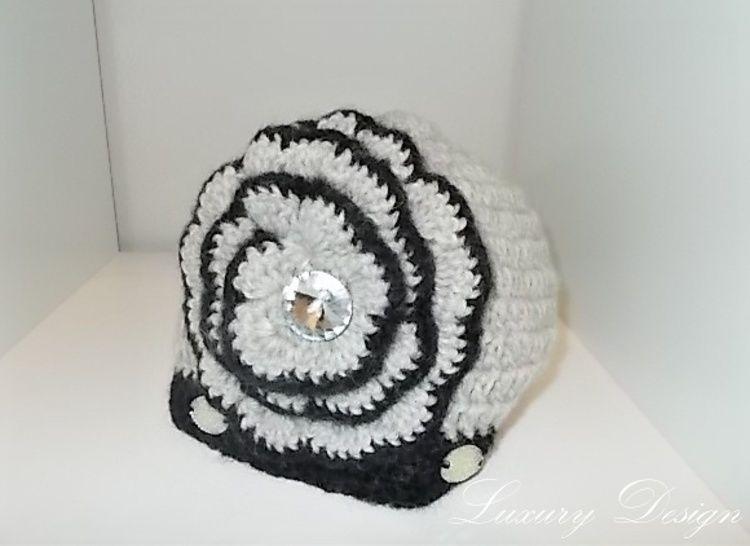 Häkelanleitung Mütze Luxury Design No.7 bei Makerist - Bild 1