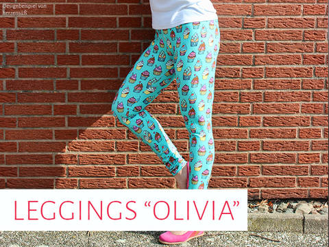 "Leggings ""Olivia"" bei Makerist"