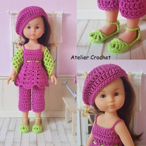 """""""Inaya"""" for Chérie Corolle or Paola Reina doll at Makerist"""