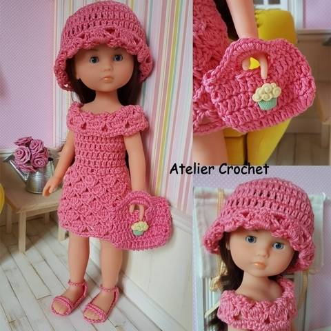 """""""Natacha"""" for Chérie Corolle or Paola Reina doll at Makerist"""