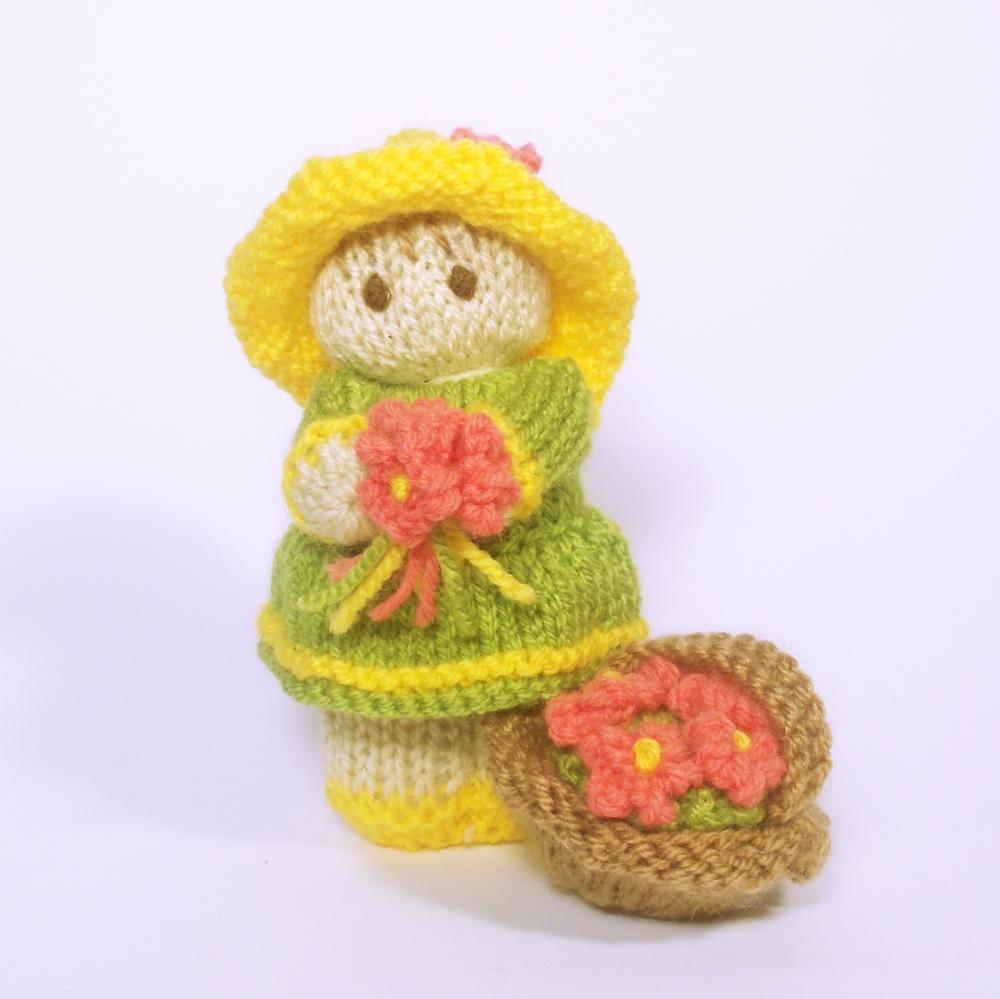Flower Garden Bitsy Baby Doll