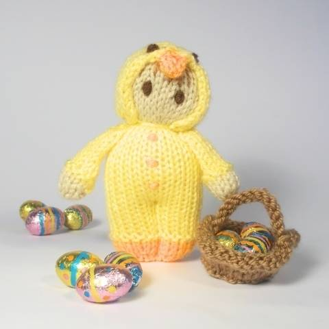 Easter Chick Bitsy Doll at Makerist