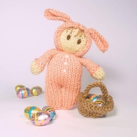 Easter Bunny Bitsy Doll at Makerist