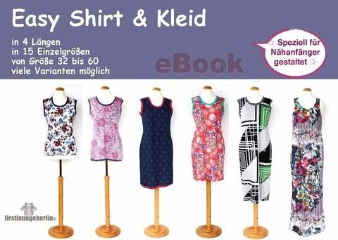 Easy SHIRT & KLEID Damenshirt Damenkleid Sommerkleid Top