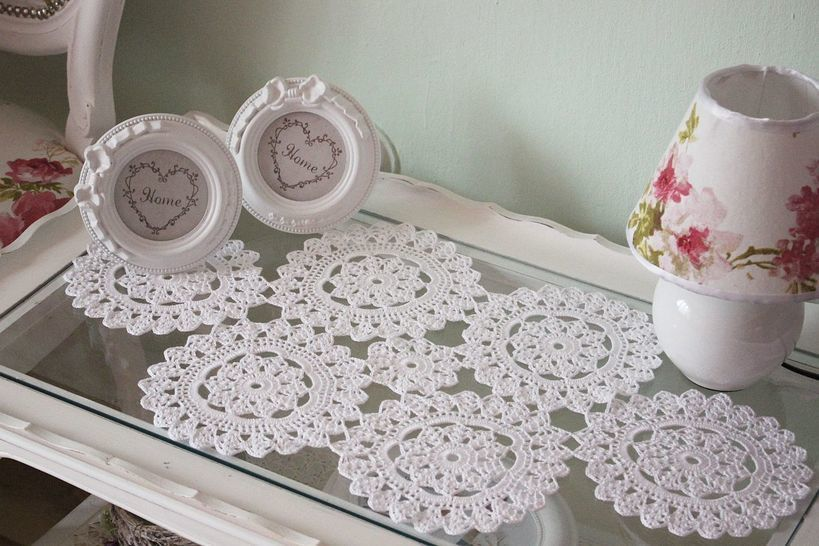 Lace Doily Crochet Pattern at Makerist - Image 1