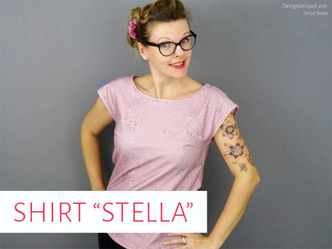 "Shirt ""Stella"" bei Makerist"