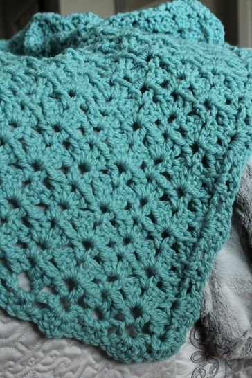 Harmony Throw - crochet at Makerist - Image 1