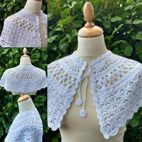 First Communion Cape at Makerist