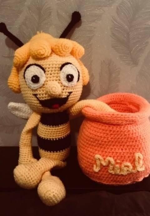 Tutoriel crochet -  Miela l'abeille  chez Makerist