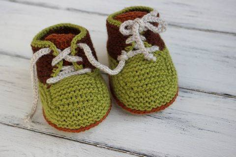 Knit Baby Booties Pattern at Makerist