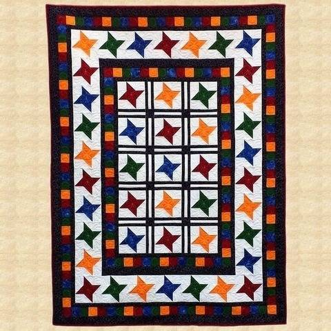 Under The Stars Crib Quilt Pattern