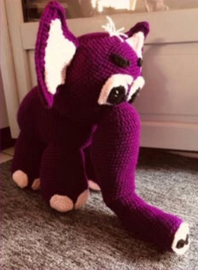 Tutoriel crochet -  Elo l'éléphant  chez Makerist - Image 1