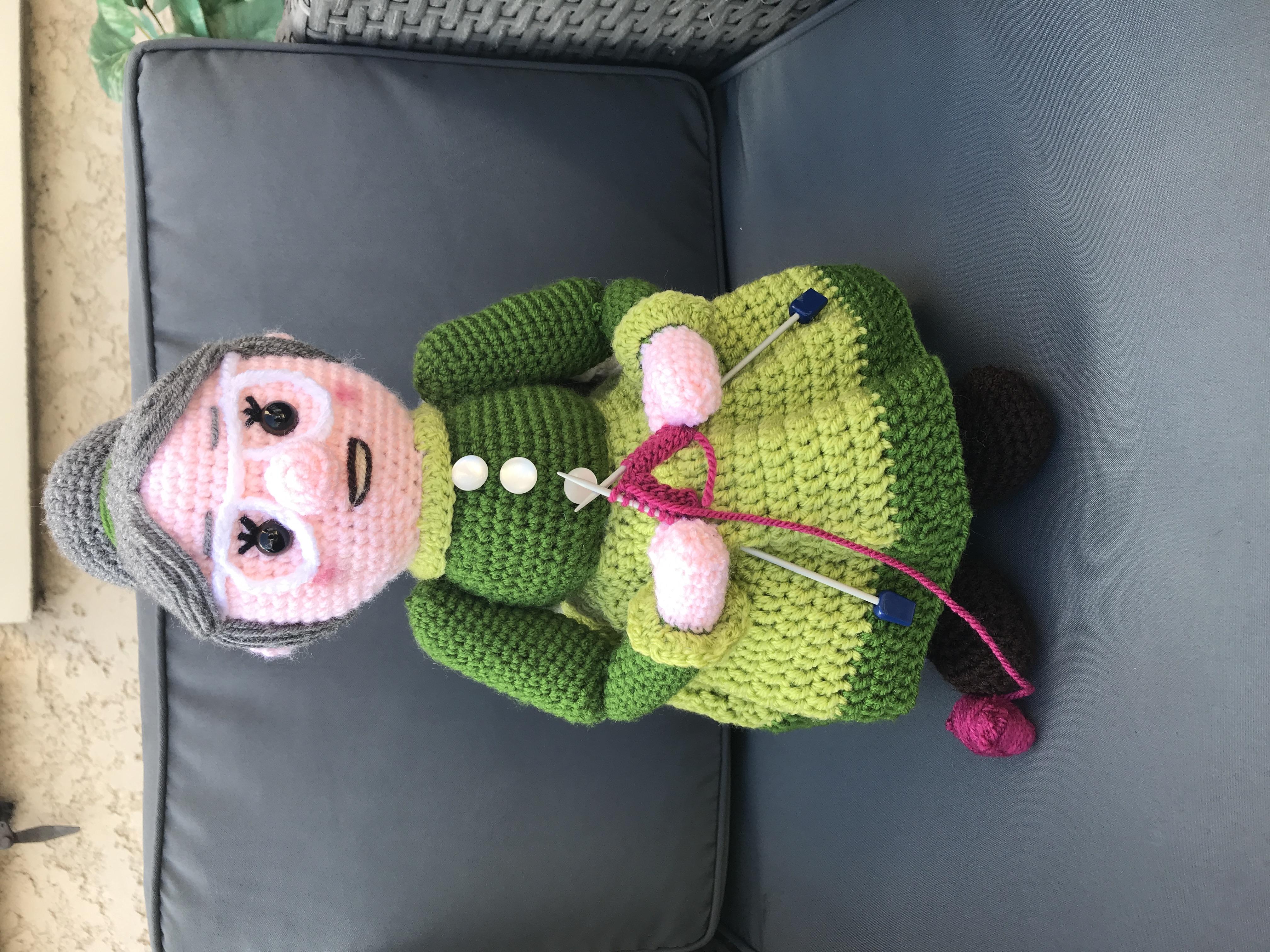 Tuto mamie tricote crochet