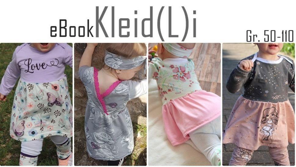 KleidLi / Kleid Tunika /Anleitung + Schnittmuster bei Makerist - Bild 1