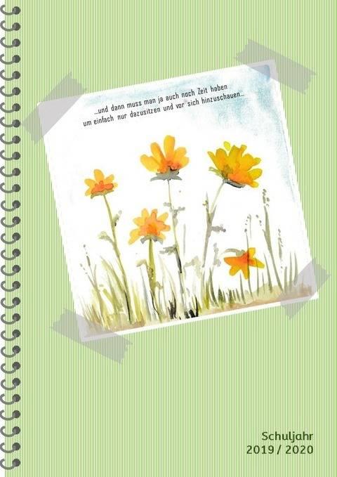 Lehrerkalender 2019/20, Unterricht, Schulplaner