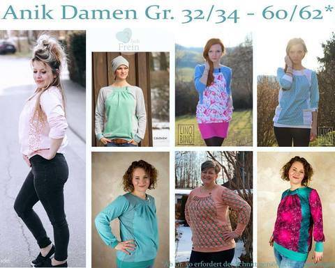 eBook Anik Damen Gr.32/34 - 60/62