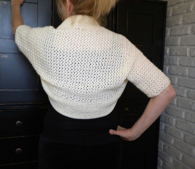 Summer Bolero/Shrug- Crochet Pattern at Makerist - Image 1