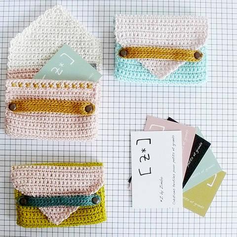 Porte-cartes - patron de crochet