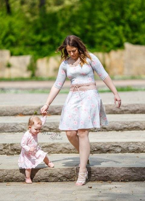 ADD-ON Mini&Me Basic Women & Kids go dressy