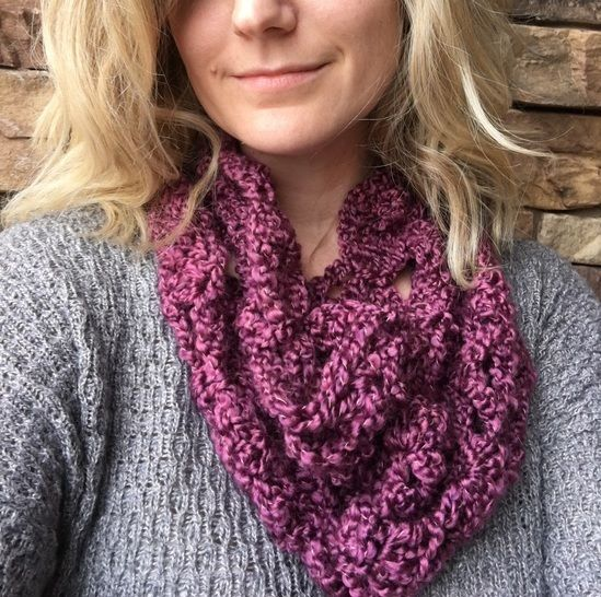 Clara Cowl - crochet at Makerist - Image 1