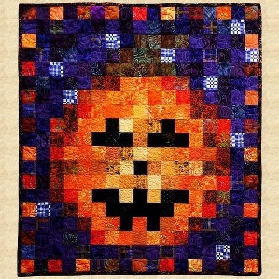October Pumpkin Quilted Wall Hanging Pattern at Makerist - Image 1