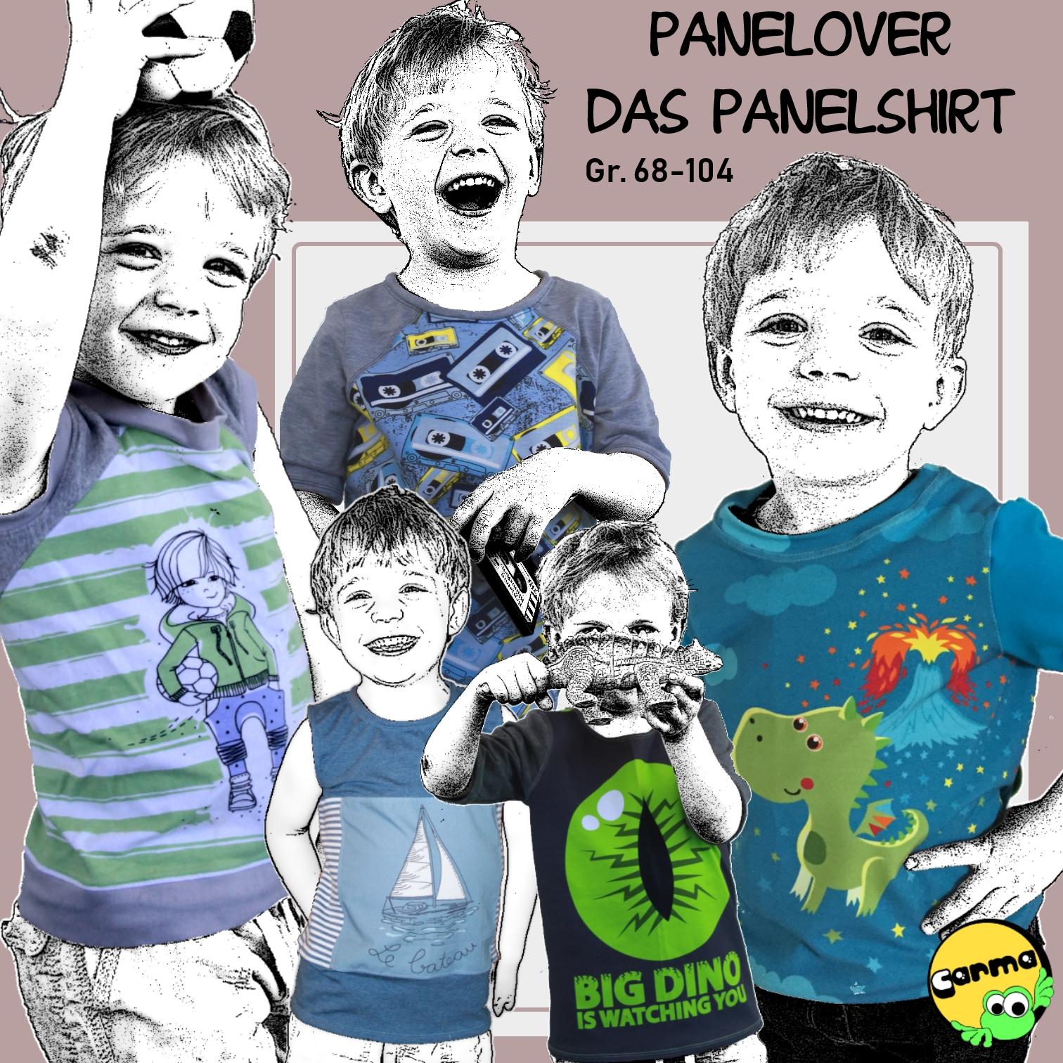 Panelover Grösse 68-104 Das Shirt