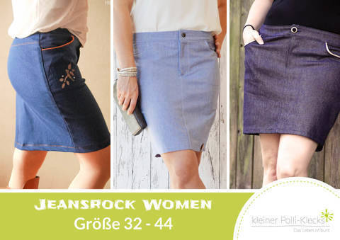eBook • Jeansrock Women Gr. 32-44 bei Makerist