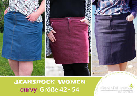 eBook • Jeansrock Women Gr. 42-54 bei Makerist