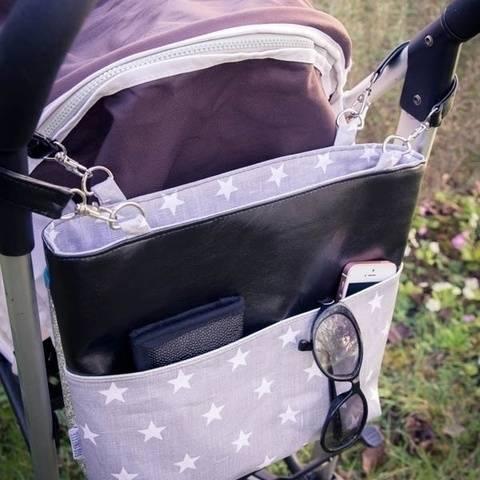 le sac MONA pochette de poussette et sac à main)