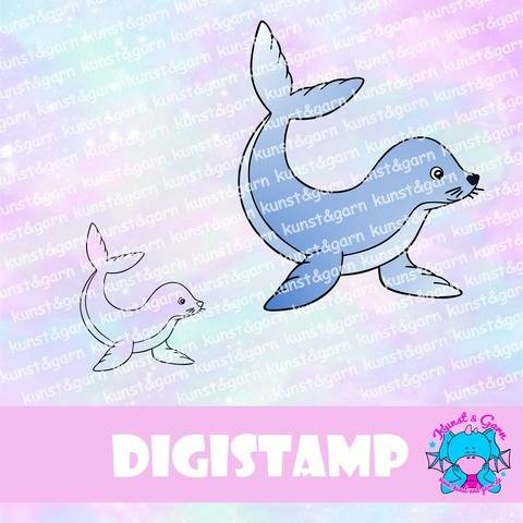 DigiStamp Seehund