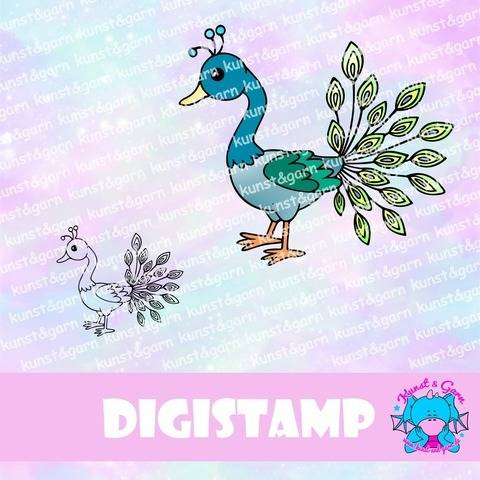 DigiStamp Pfau