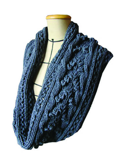 Eireen Snood - written tutorial to knit this snood at Makerist - Image 1