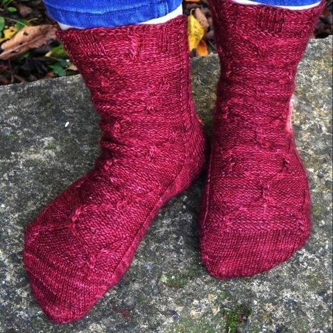 Chaussettes Beaune - explications tricot