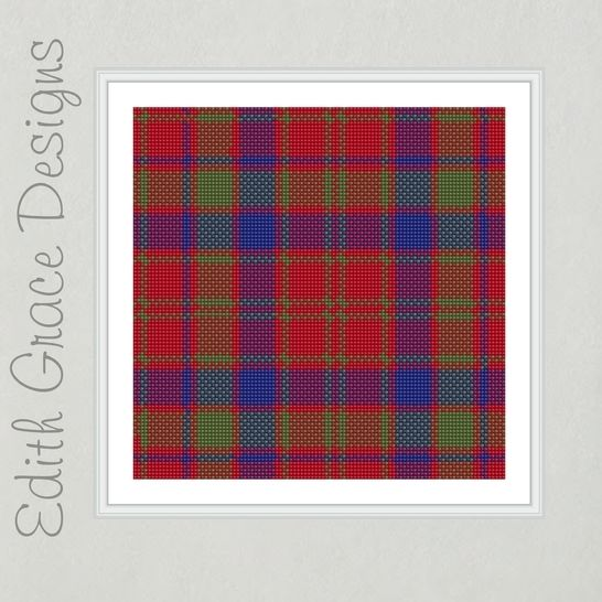 Robertson Tartan Needlepoint Pattern at Makerist - Image 1