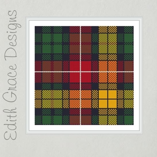 Buchanan Tartan Needlepoint  at Makerist - Image 1