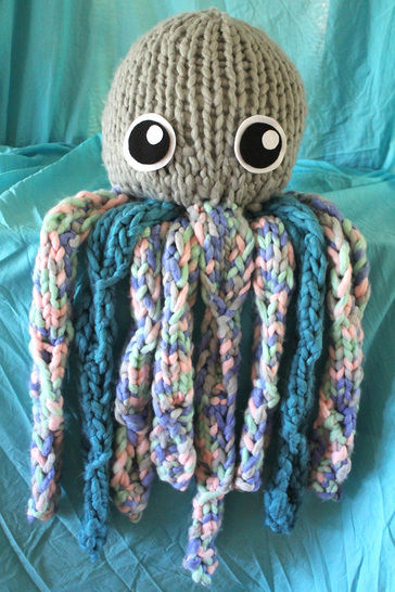 Octavius The Knitted Octopus - Knitting Pattern at Makerist - Image 1