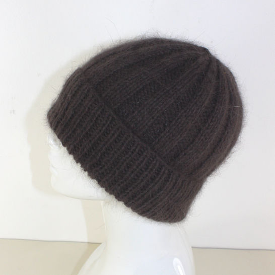 Fluffy 3x3 Rib Beanie Hat at Makerist - Image 1