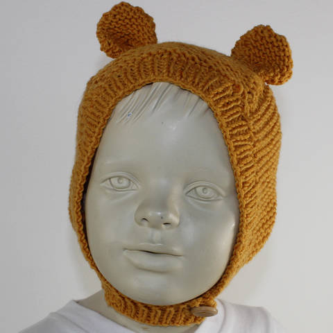 Baby and Toddler Teddy Ears Hat