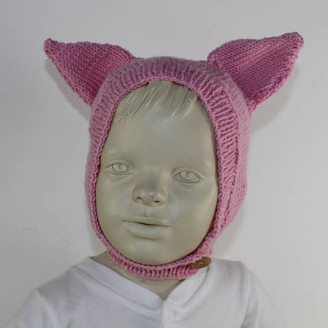 Baby and Toddler Piggy Ears Hat
