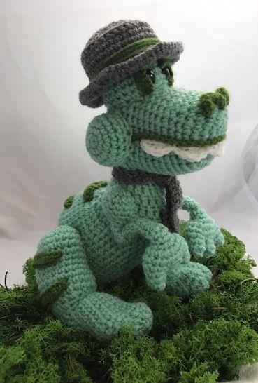 Tuto pdf zaure le dinosaure crochet chez Makerist - Image 1