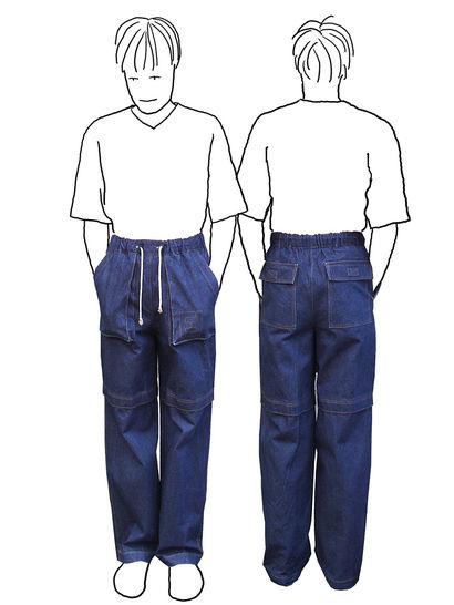 Zipp-Off Hose für Jungs *Schnittmuster und Nähanleitung bei Makerist - Bild 1