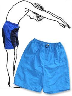 Badeshorts, Sporthose Gr.140-188 * Schnittmuster und Nähanleitung