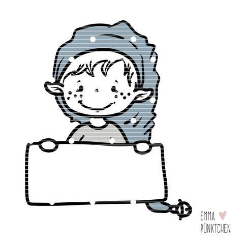 emmapünktchen ® – elfen helfen plotterdatei