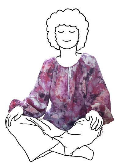 Hippiebluse für Mädchen * super easy * Gr. 146-182 * Schnittmuster und Anleitung bei Makerist - Bild 1