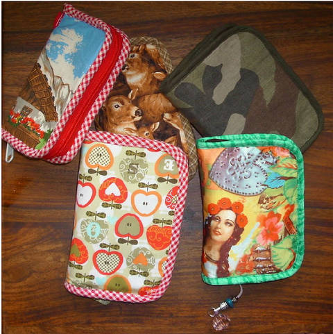 Geldbörse mit Reißverschluss * Kompakt und vielseitig * Nähanleitung bei Makerist
