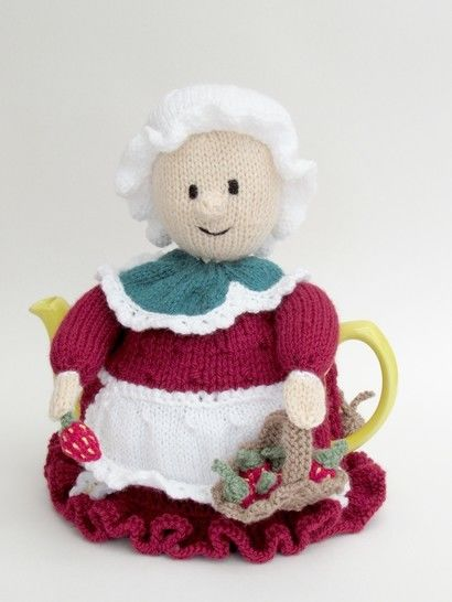 Devonshire Strawberry Picker Tea Cosy at Makerist - Image 1
