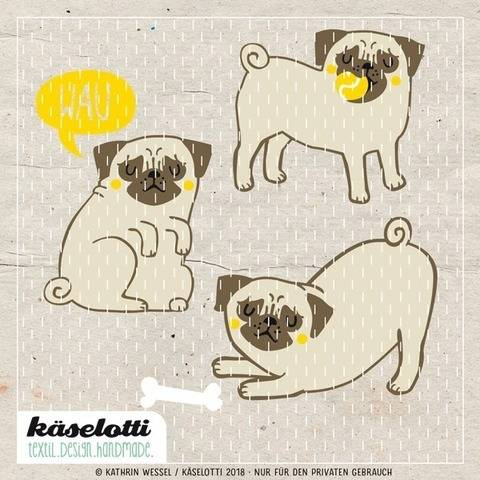 cutting file set pugs