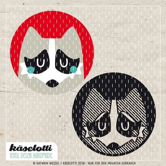 cutting file bubble raccoon at Makerist - Image 1