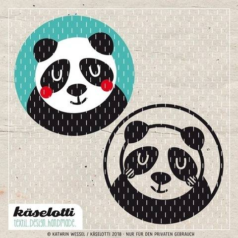 cutting file bubble panda bear